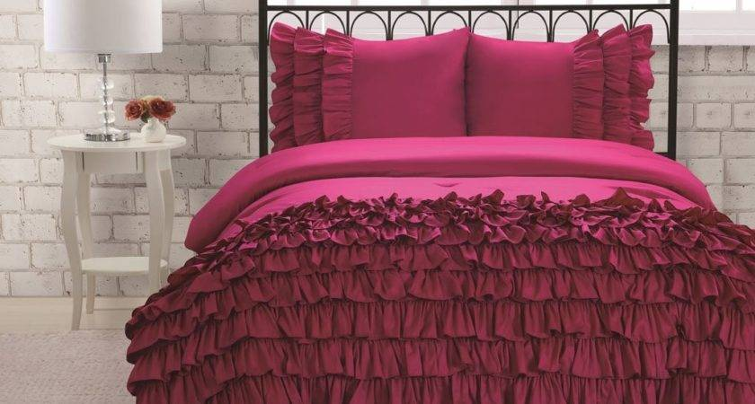 Total Fab Rose Colored Bedding Comforters Sheet Sets