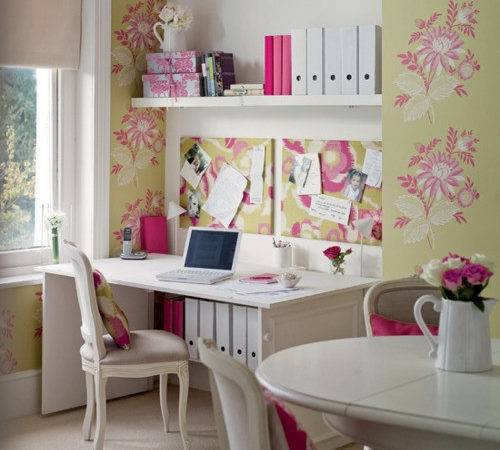 Totally Gorgeous Vintage Shabby Chic Home Office Studios