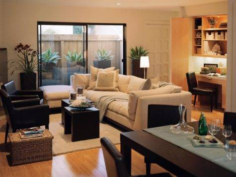 Townhouse Living Room Design