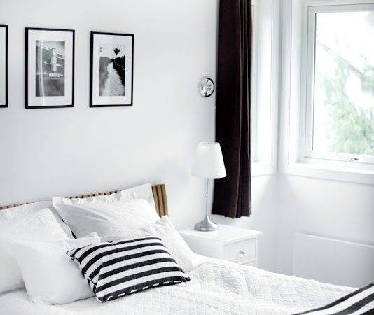 Traditional Black White Bedroom Inspire Digsdigs
