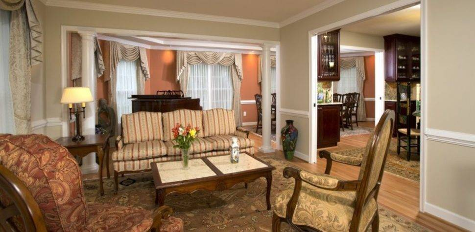Traditional Living Room Decosee