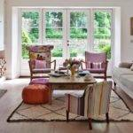 Traditional Living Room Mismatched Chairs Furniture