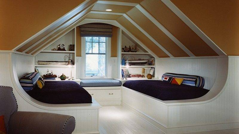 Transform Your Attic Into Fun Game Room