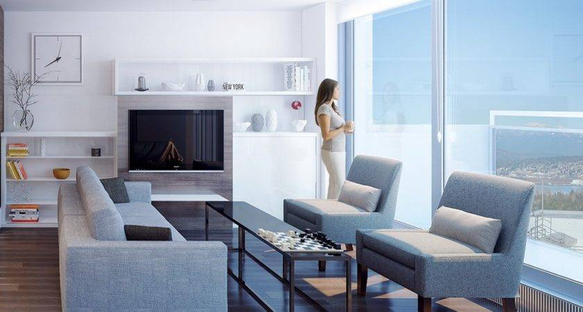 Transformable Spaces Smart Small Modern Apartment