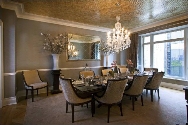 Transitional Dining Room Design Ideas