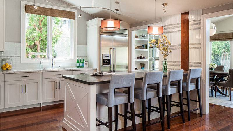 Transitional Kitchen Designs Mix Old New