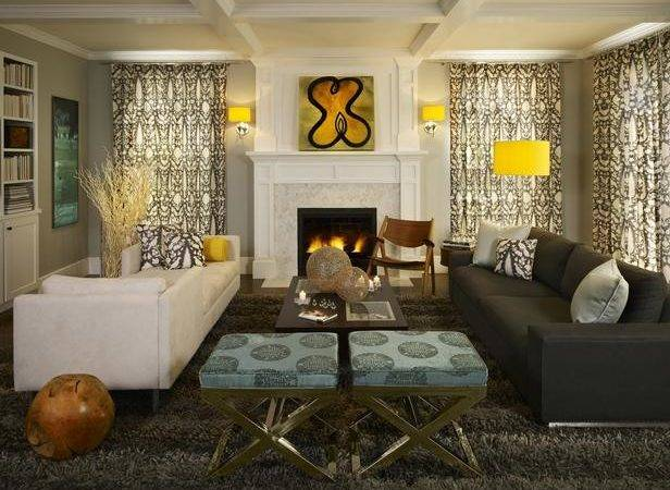 Transitional Living Room Decorating Ideas Andrea