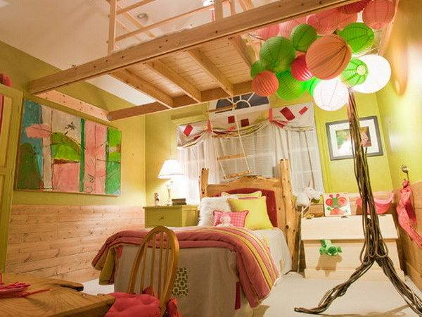 Tree House Bedroom Home Design