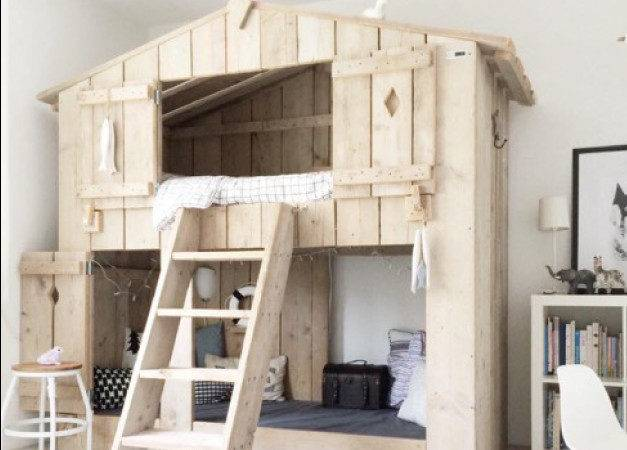Tree House Bunk Beds Sale Plan
