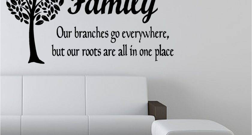 Tree Like Branches Vinyl Art Sticker Bedroom Lounge