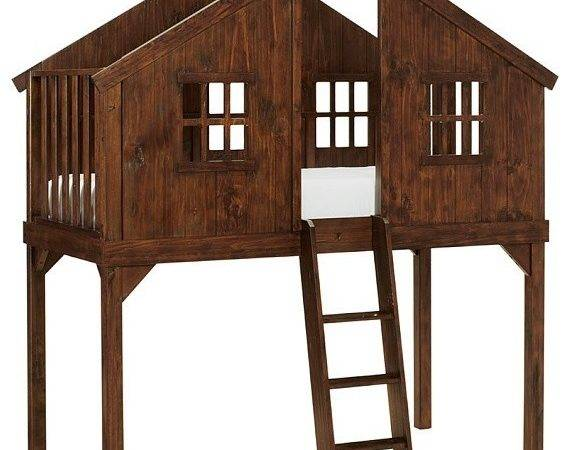 Treehouse Bed Contemporary Kids Beds Pottery Barn