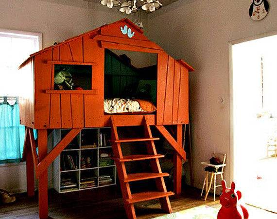 Treehouse Bed Crave