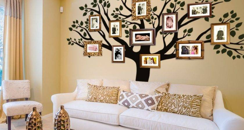 Trees Wall Stencils Car Interior Design