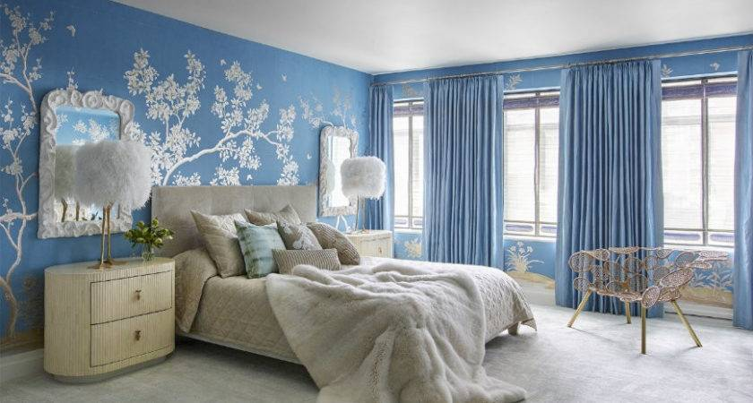 Tremendously Designed Bedroom Ideas Shades Blue