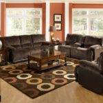 Trendy Dark Brown Living Room Everyone