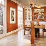 Trendy Dining Rooms Spunky Orange