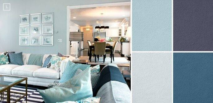 Trendy Living Room Color Schemes