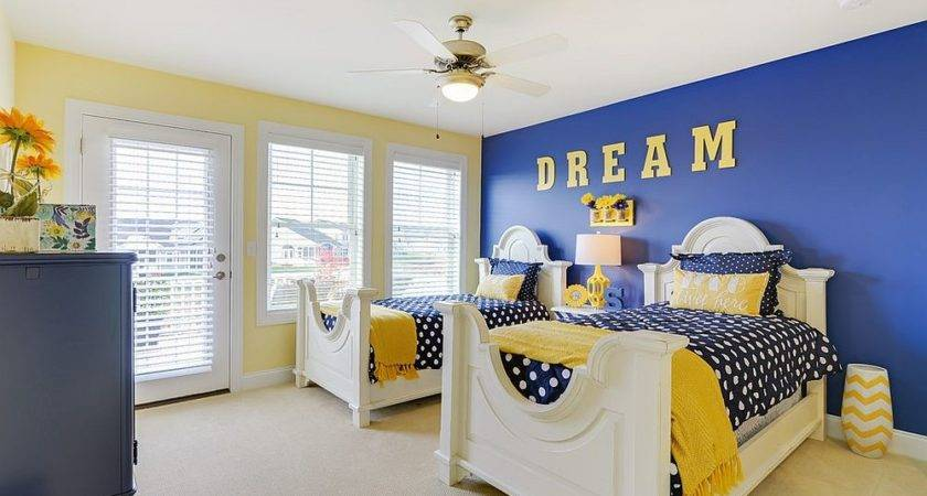 Trendy Timeless Kids Rooms Yellow Blue