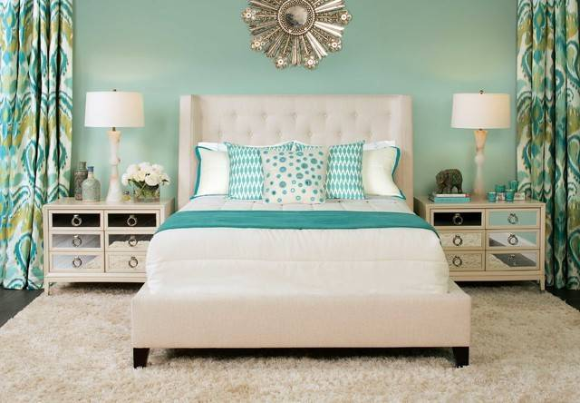 Tribal Style Maxime Bed Eclectic Bedroom High