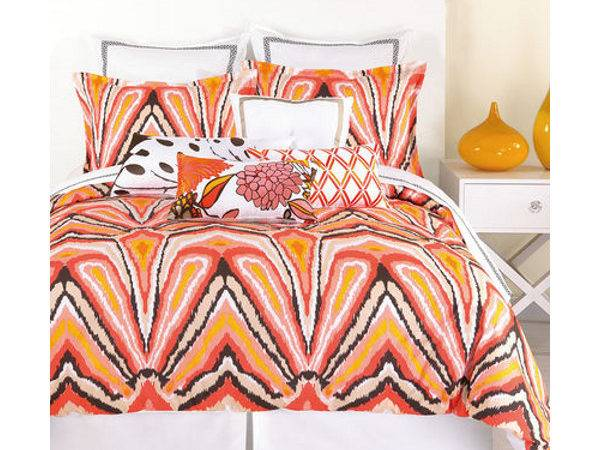 Trina Turk Peacock Punch Comforter Set Beach Modern