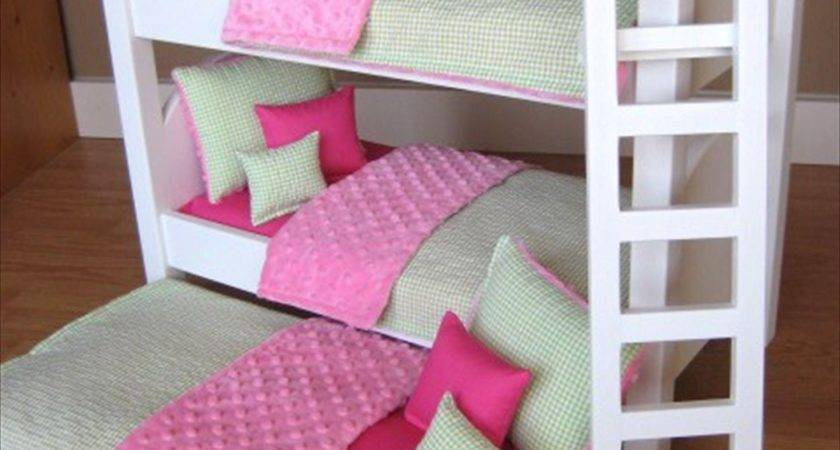 Triple Bunk Bed American Girl Dolls Reserved