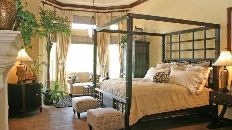 Tropical Bedroom Furniture Exotic Allure Home