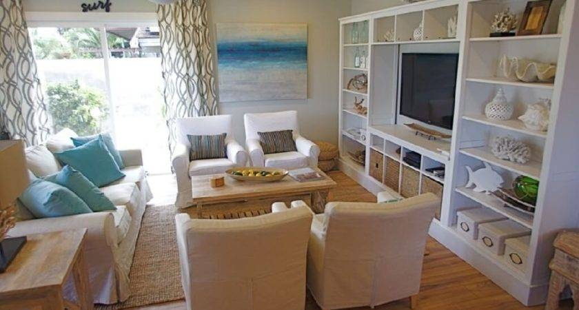 Tropical Living Room Decor Awesome Beach Themed