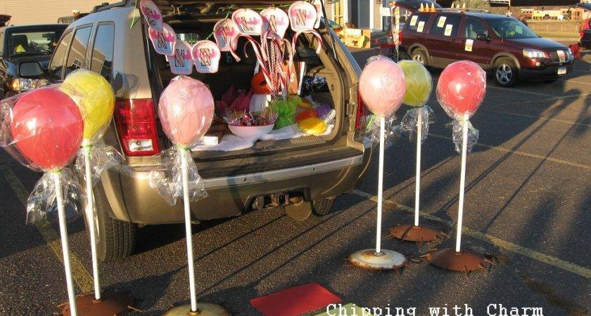 Trunk Treat Decorating Ideas Dream House Experience