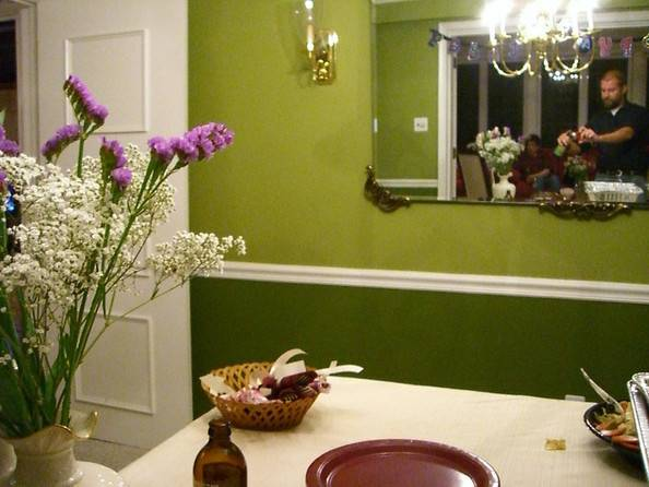 Try Two Toned Paint Ideas Your Dining Room Zimbio