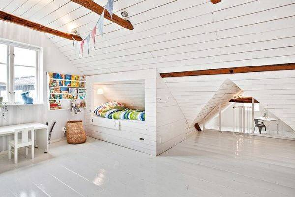 Turn Attic Into Perfect Play Area Kids