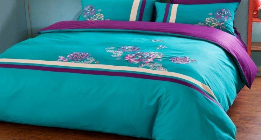 Turqoise Bedding Purple Turquoise Comforter Sets