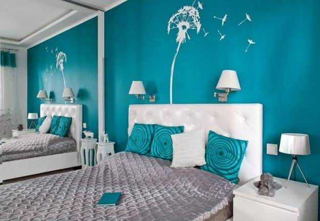 Turquoise Bedroom Ideas Home Decorating