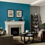 Turquoise Black White Living Room Ideas