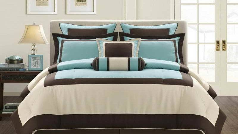 Turquoise Brown Bedroom Blue Paint Colors