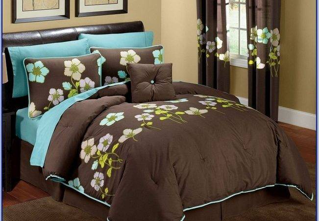Turquoise Brown Bedroom Decorating Ideas Home Design