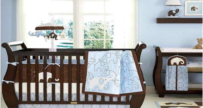 Turquoise Brown Crib Bedding Sets Home Design