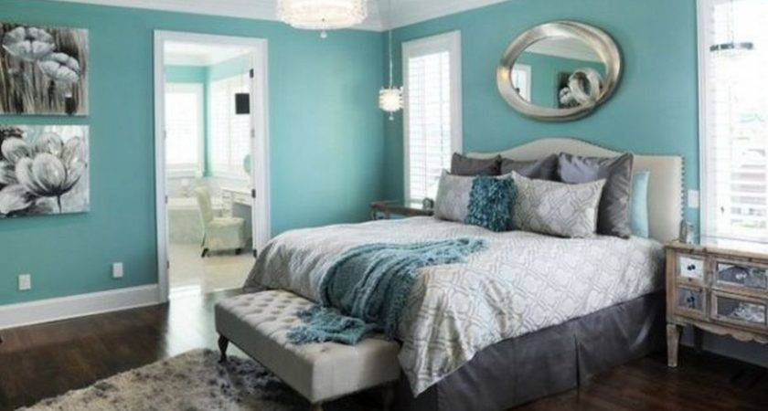 Turquoise Curtains Bedding Singular Red Grey Bedroom