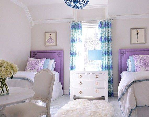 Turquoise Kids Nightstand Design Ideas