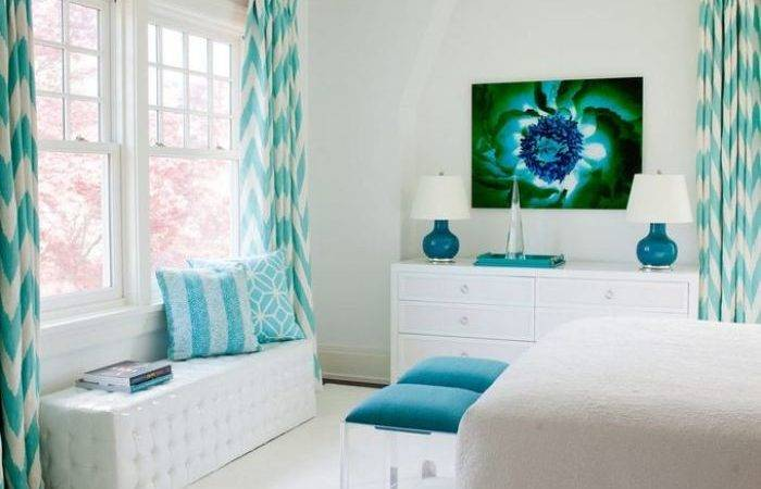 Turquoise Paint Living Room Wall Home Decor