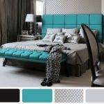 Turquoise Purple Bedroom