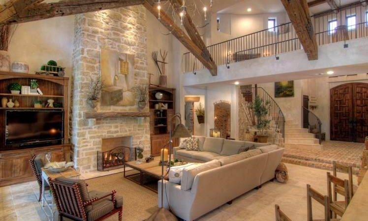 Tuscan Style Home Interior Design Decorating Elements