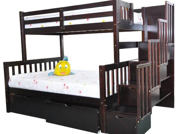 Twin Bunk Beds Kids Furniture