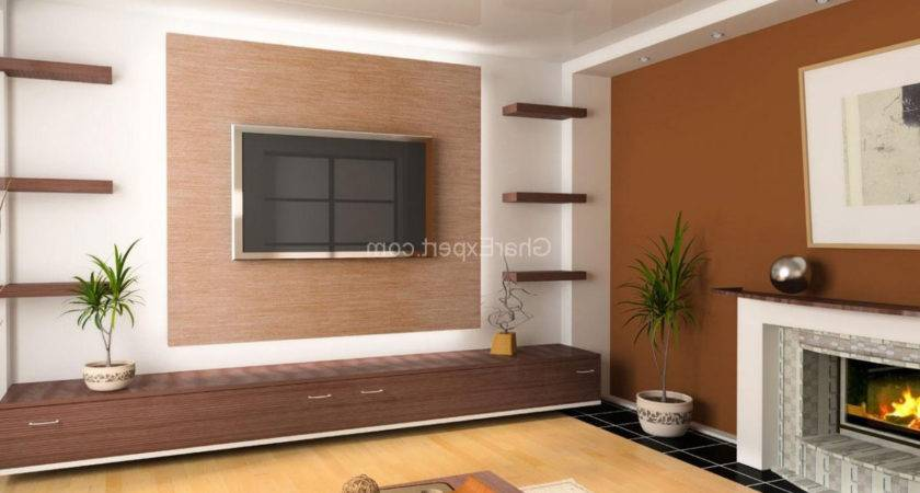 Two Colour Combination Drawing Living Room