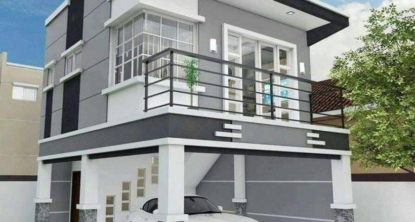 Two Floor Houses Serving Roof Deck