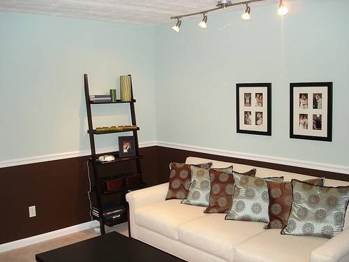 Two Tone Living Room Owner
