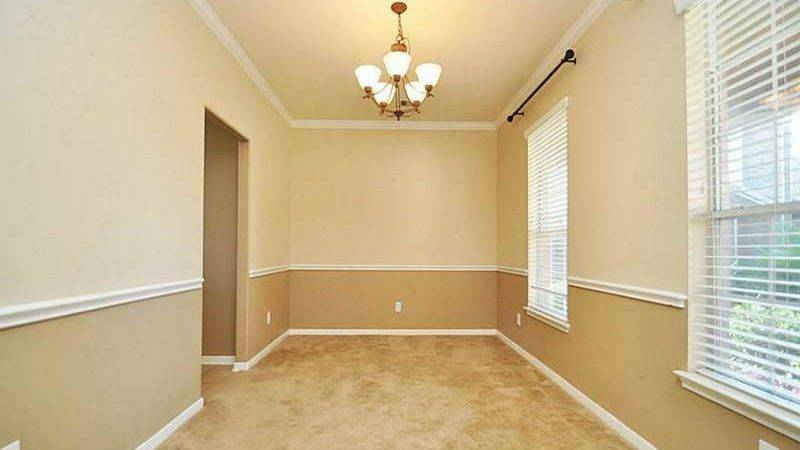 Two Tone Living Room Paint Ideas Modern House