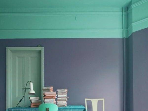 Two Toned Walls Work Colorblocking Inspiration