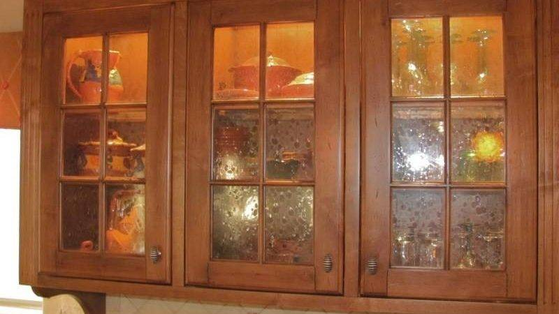Types Glass Kitchen Cabinets Best Custom