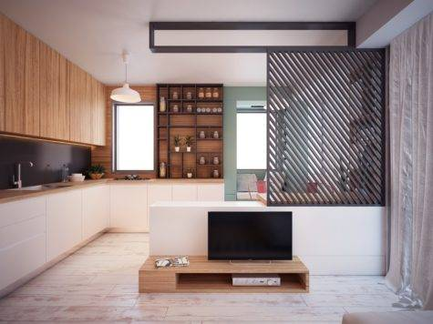 Ultra Tiny Home Design Interiors Under Square Meters