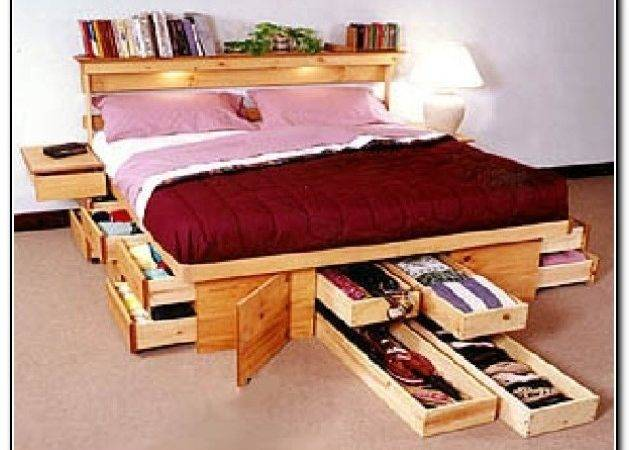 Under Bed Storage Ideas Beds Home Design